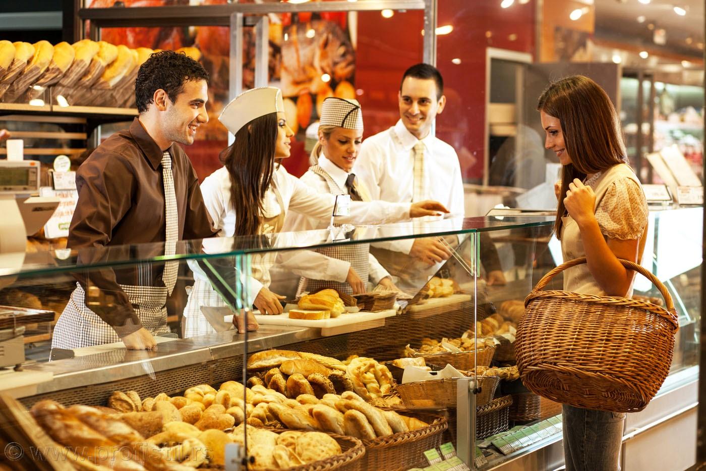 Radne uniforme za pekare,mesare i markete