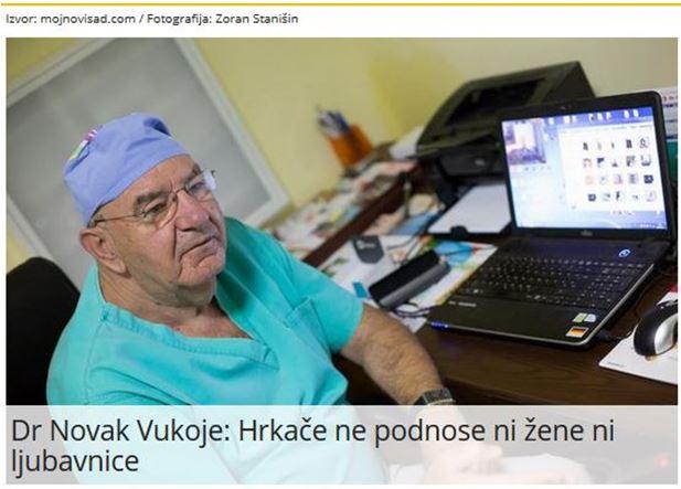 Dr Vukoje u medjima